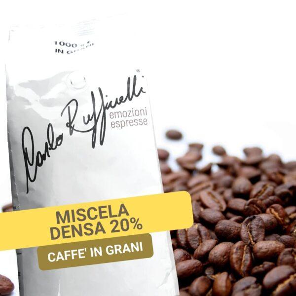 Caffè in Grani Miscela DENSA 20 Arabica - Magikaffe