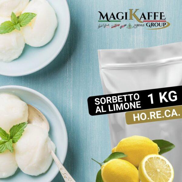 Sorbetto al Limone 1 Kg - Linea Horeca - Magikaffe